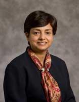 Professor Manju Puri photograph