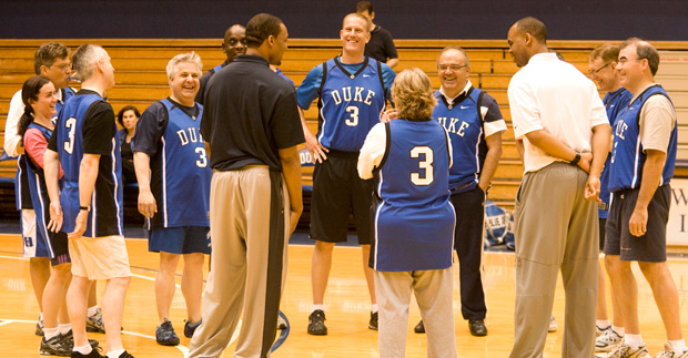 Fuquans being coached at Cameron Indoor