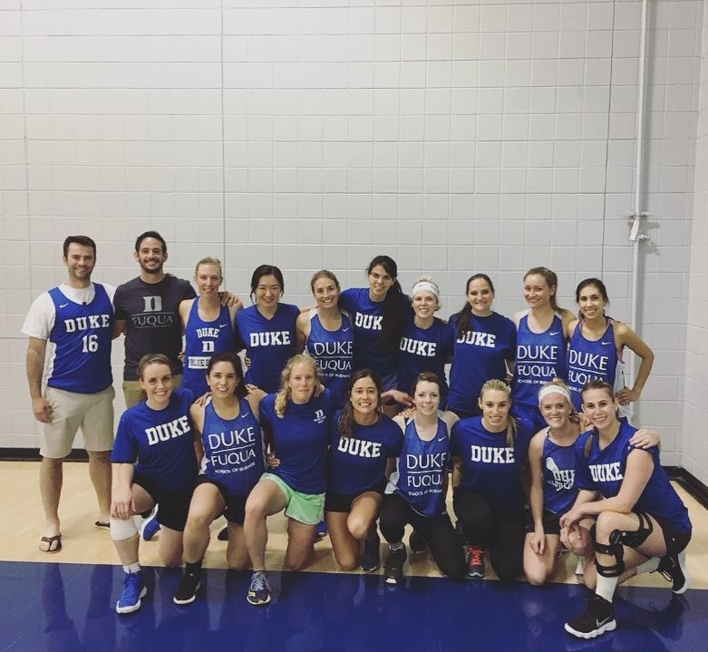 Olivia Klupar on Women's Blue Cup Basketball Team