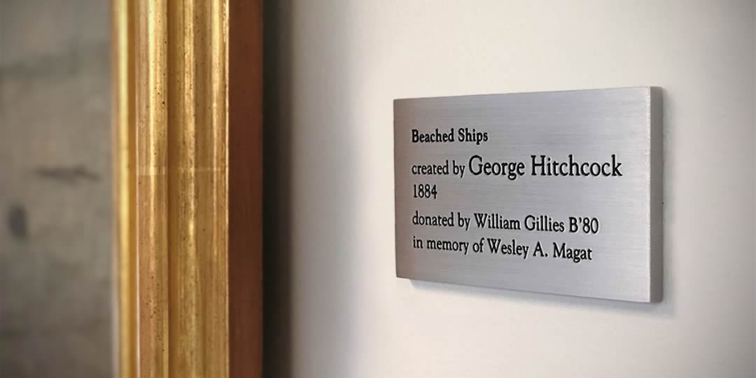 Bill Gillies nameplate