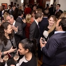 Networking at the General Management Club Symposium