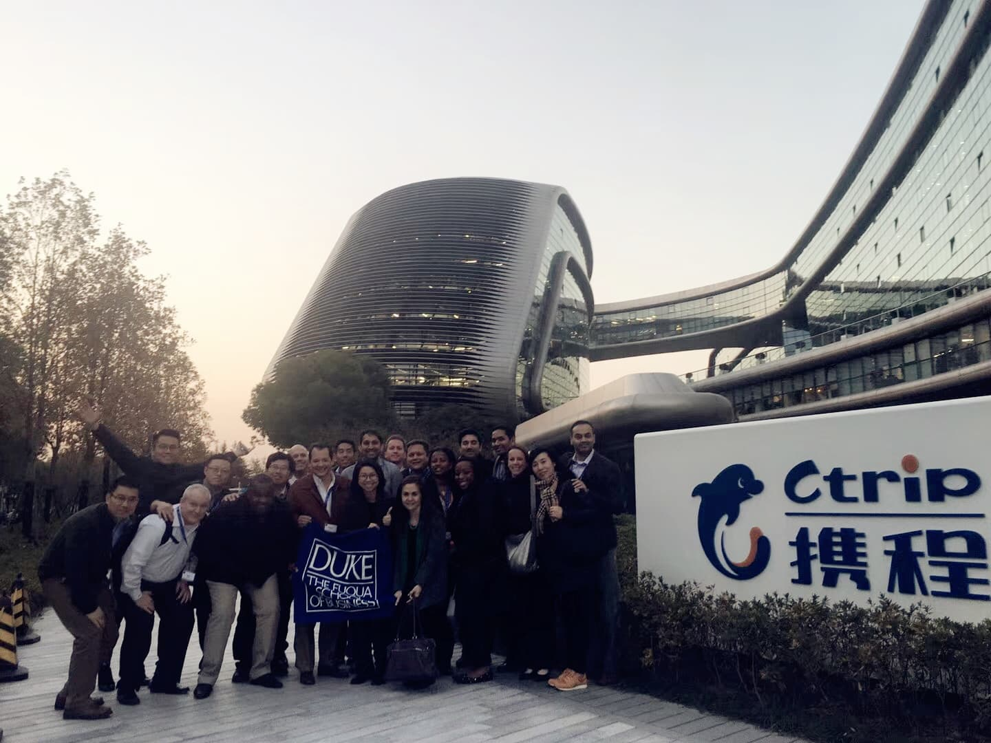 Corporate visit to Ctrip.com International, Ltd